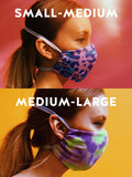 Double Layer Face Cover Fringed Mask - 2020 ZW PRINTS *8 Prints