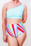 Reversible High Waist Bikini Bottom ♻ *5 Prints
