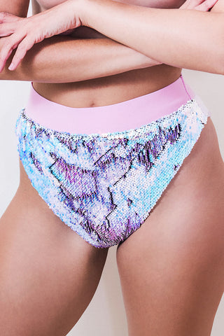 Flip Sequin High Rise Knicker *3 Colours