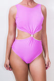 Reversible Knotted Cut Out Swimsuit ♻ *5 Prints