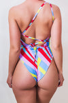 Reversible 1 Shoulder Rainbow Pride Swimsuit ♻ *5 Prints