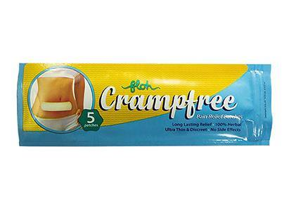 Crampfree Period Pain Relief Patch - Pack of 5