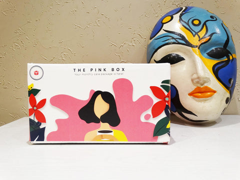 Pink Box - Pads - Customize your Yearly Subscription - The Pink Box