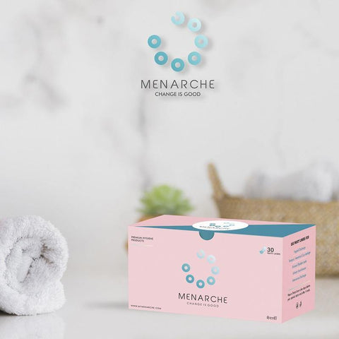 Panty Liners - 100% Cotton - by Menarche - The Pink Box