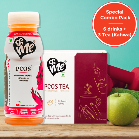 PCOS Drinks & Tea by &Me - The Pink Box