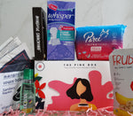 Pink Box - Travel Pack with Pads and Panty Liners