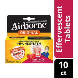 10 Tablets Berry Flavor Effervescent Tablets Glutenfree Immune Support Supplement and High in Antioxidants from USA
