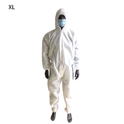 Protective Coveralls with Hood Dustproof  Suit  for Men Women XL XXL