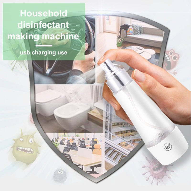 Household Disinfectant Maker Self-Made Disinfection Machine Hand Wash Soap Sprayer