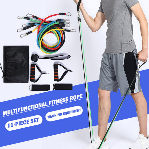 Resistance Pull Rope Fitness Resistance Bands for Arms and  Legs Strength Exercise for Home Fitness Workout Yoga