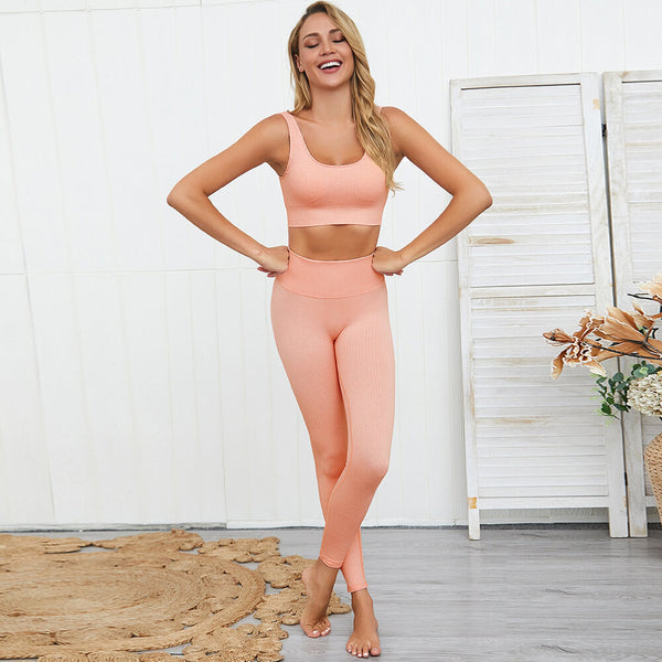Women Yoga Set Outfits