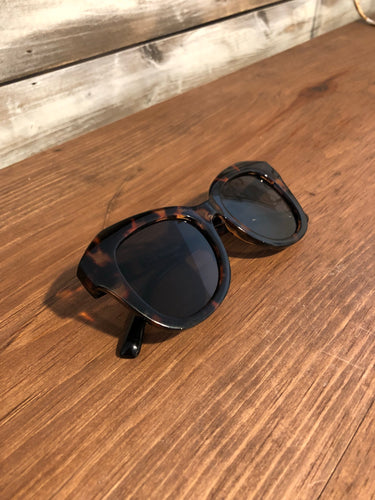 Large Tortoise Shell Sunglasses