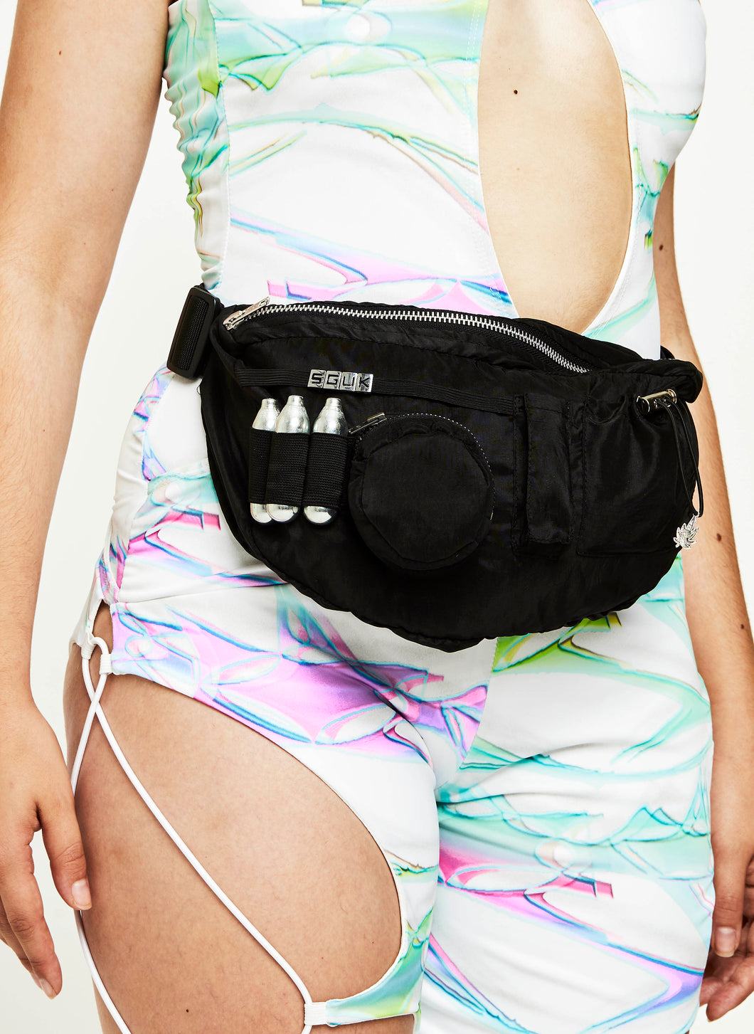 SPACED OUT RAVE UTILITY WAIST POUCH
