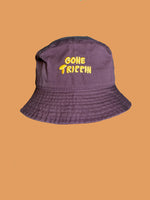 Gone Trippin Brown Bucket Hat