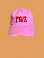 Love and Paz Pastel Pink Cap