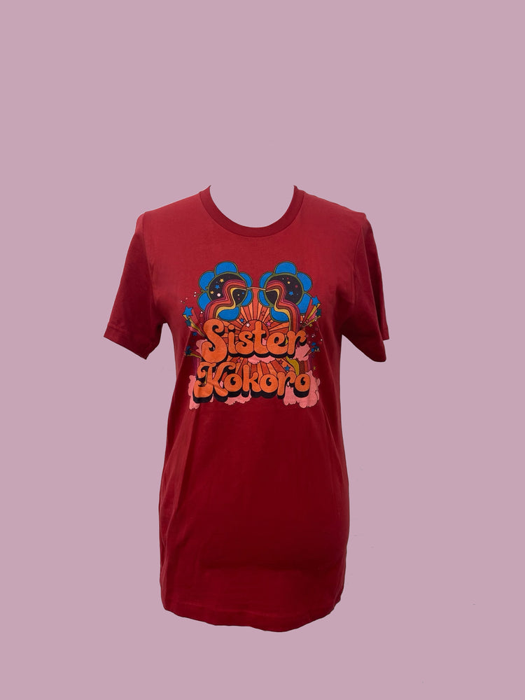 Load image into Gallery viewer, SK Psychedelic Logo Shirt - Red