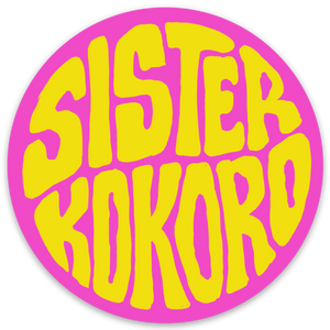 SK Pink & Yellow Sticker