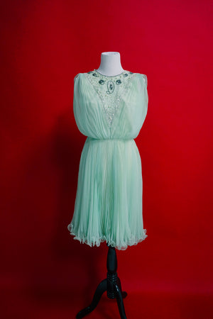 Seafoam Bettie Draper Dress