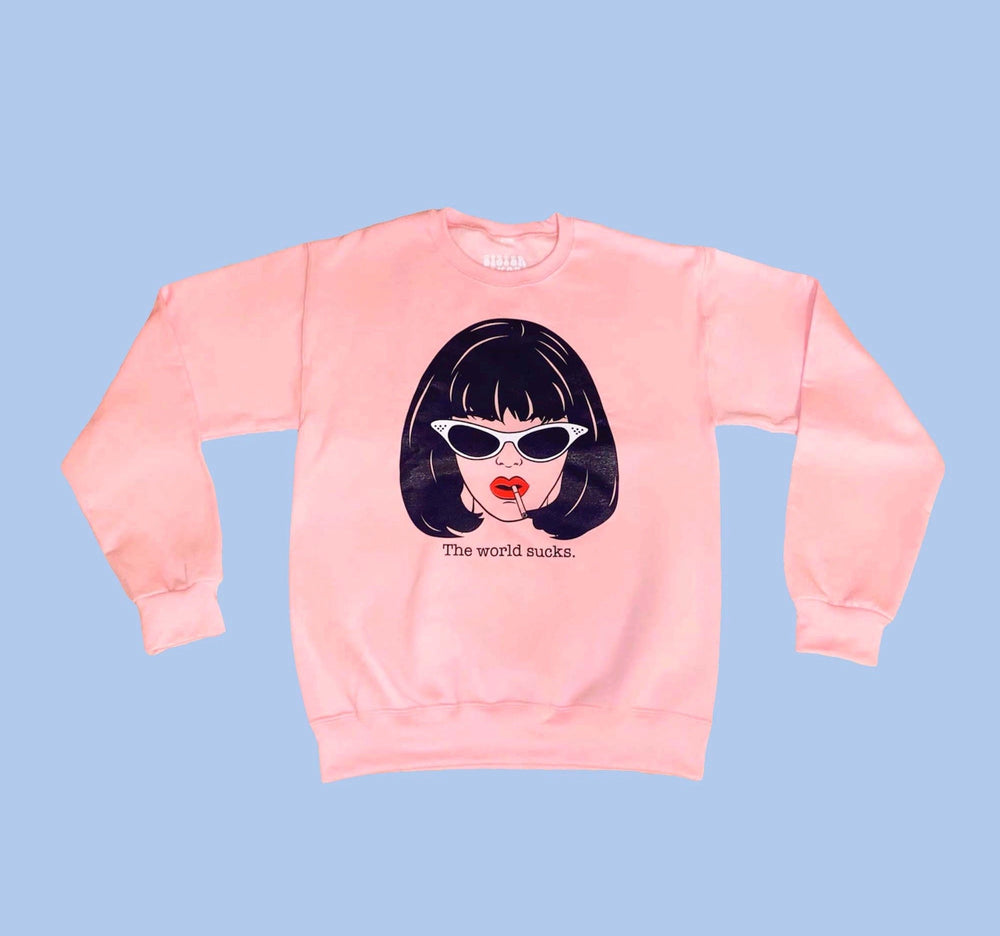 AMY BLUE DOOM GENERATION SWEATER