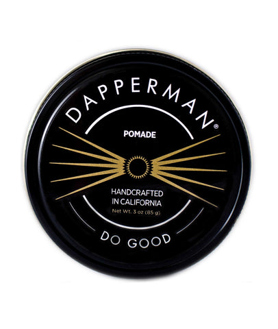 Dapperman Naturally Derived 3 oz Pomade