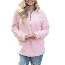 Load image into Gallery viewer, Warm My Heart Sweater, Pink