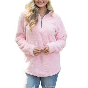 Warm My Heart Sweater, Pink
