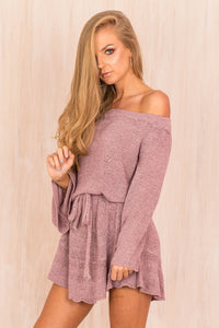 KNIT COTTON OFF SHOULDER SEXY ELEGANT HIGH QUALITY MINI DRESS