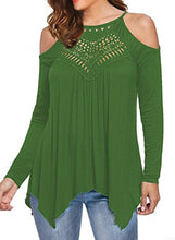 Load image into Gallery viewer, Off Shoulder Blouse Shirts,Casual