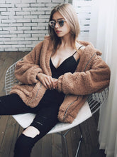 Load image into Gallery viewer, Fuzzy Cardigan,Casual