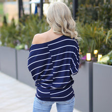 Load image into Gallery viewer, Long Sleeve Stripes Top