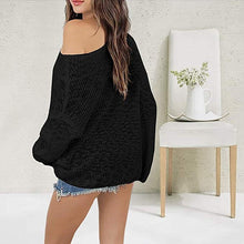 Load image into Gallery viewer, Off Shoulder Sweater
