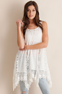 THE PARTY LACE SPLICING DRESS