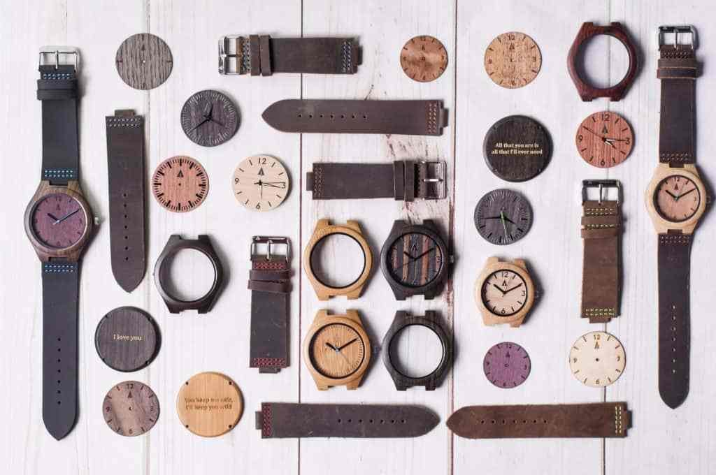 Case study: Tree Hut's wooden watch business grows up online