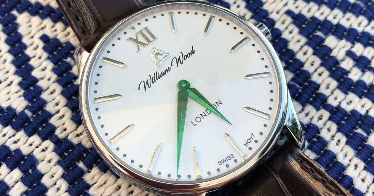 William Wood Watches Are as Affordable They Refined