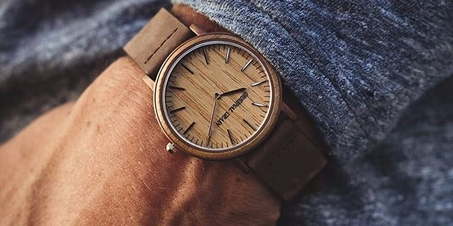 This San Diego-based startup makes unique wood watches for a great cause — and it's running Cyber Week sale