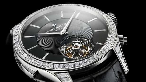 Les Cabinotiers minute repeater tourbillon sky chart by Vacheron Constantain showcases the stars