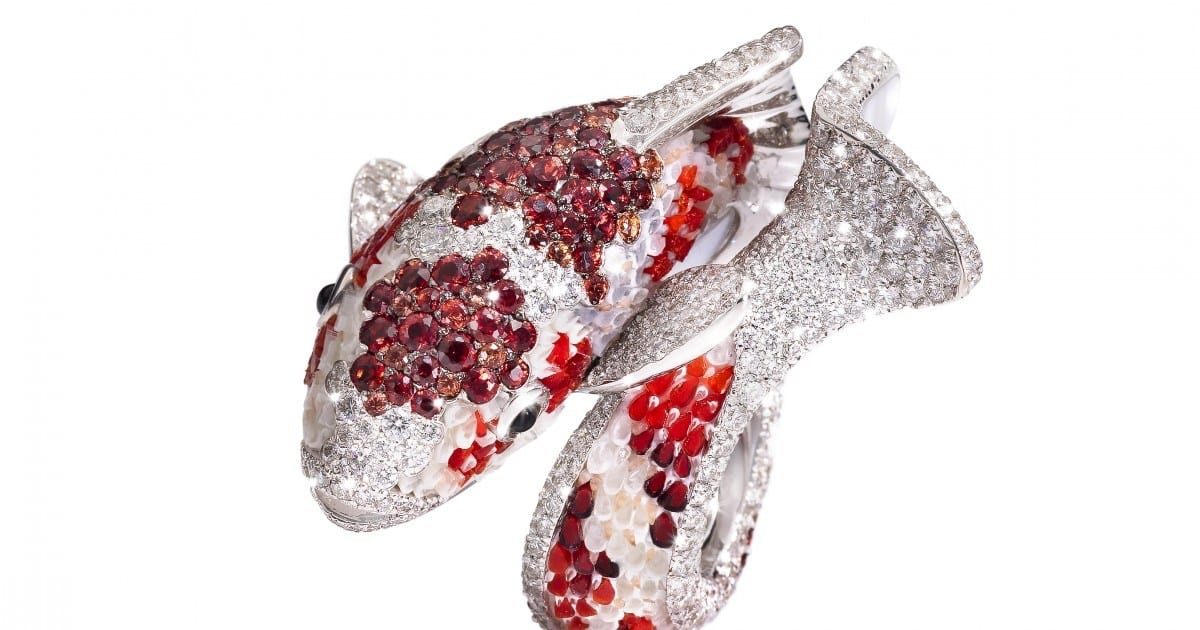 Jewellery designers push boundaries by mixing precious gemstones with unconventional materials