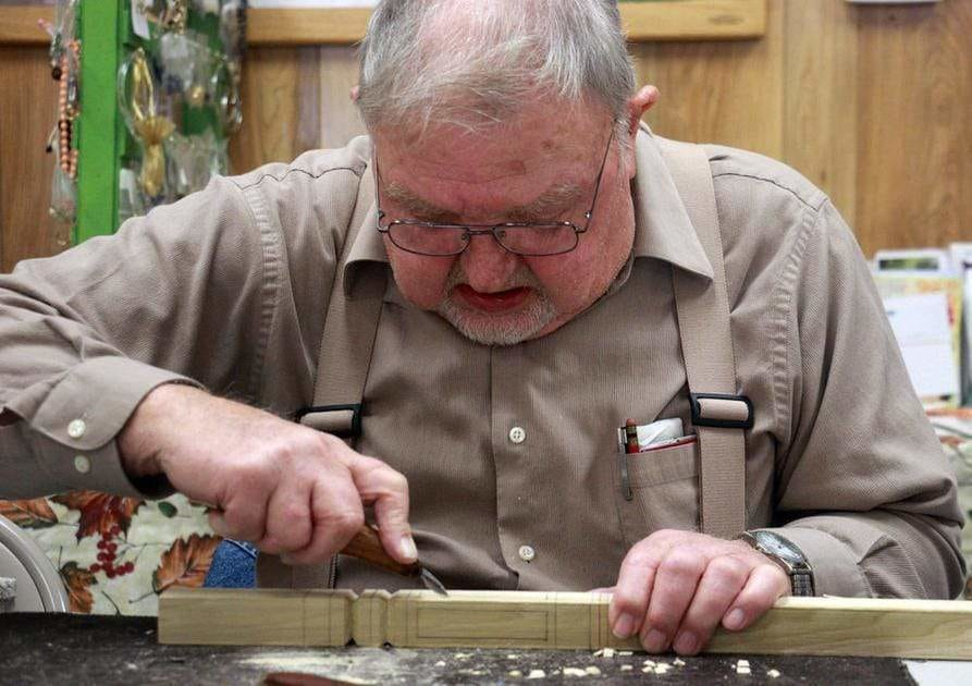 Group gathers weekly to craft from wood