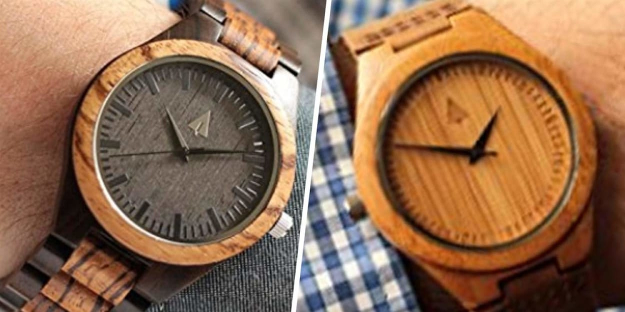 This bamboo watch mens is among the very best gifts I've offered my partner