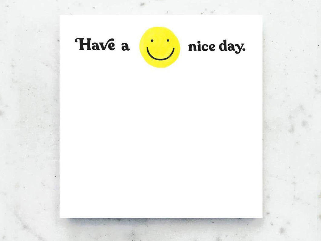 Have A Nice Day Jumbo Desk Pad