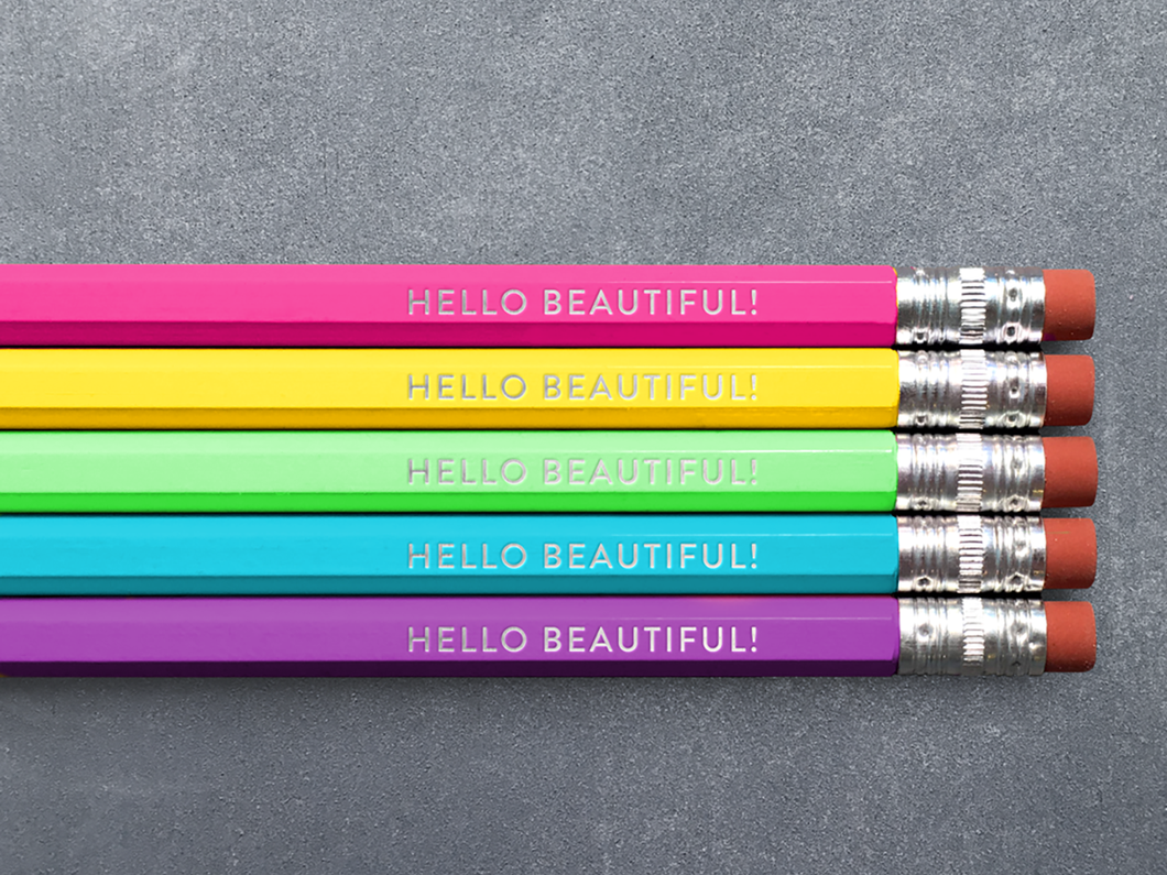 Hello Beautiful, Pencil Pack