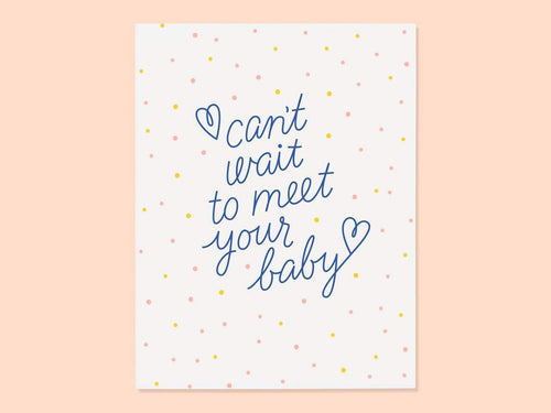 Meet Your Baby, Single Card