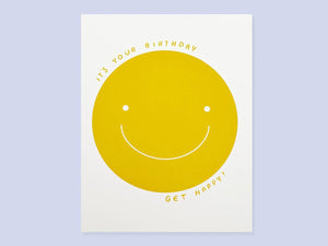 Get Happy, Single Card