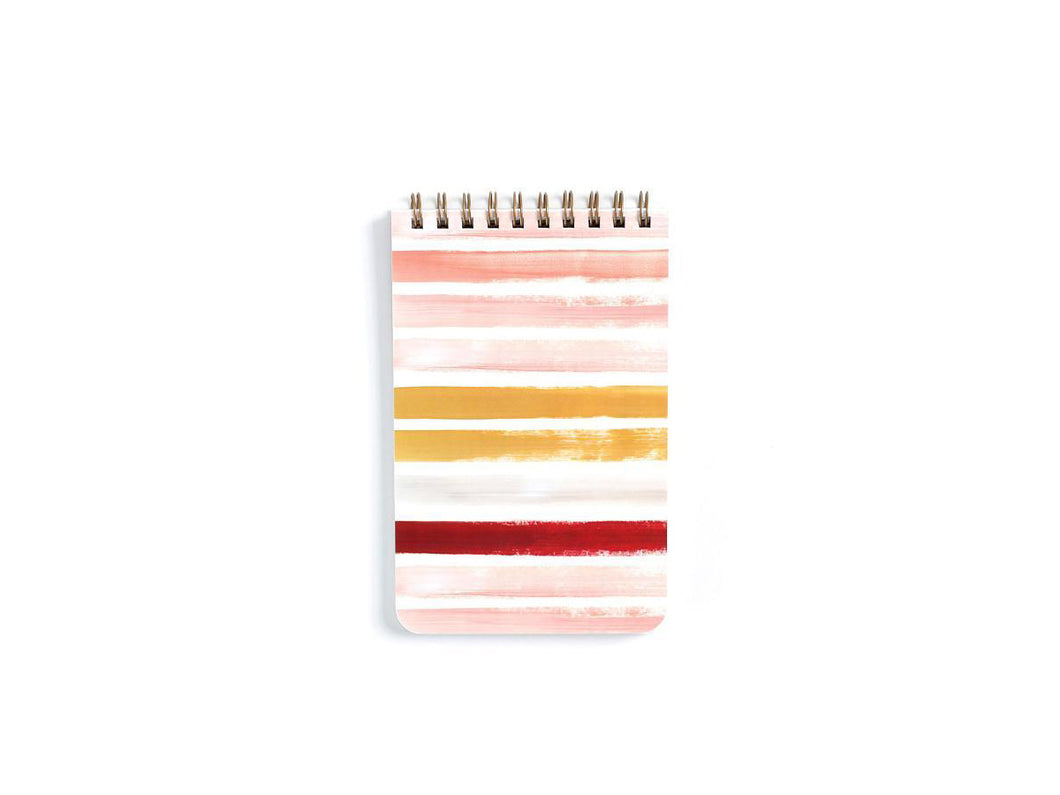 Sunset Stripe Notebook - Small