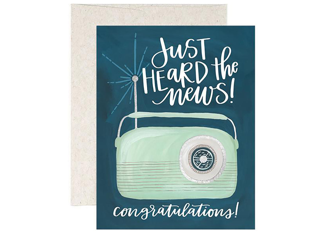 Congrats Radio, Single Card