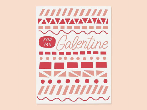Galentine, Single Card