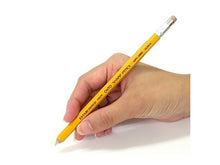 Yellow Wooden Mechanical Pencil, 0.5MM lead
