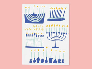 Menorahs, Single Card