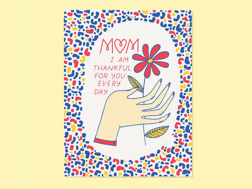 Thankful for Mom, Single Card