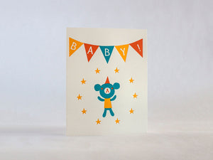 Baby Bear Stars, Single Card